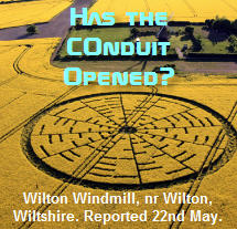 New Wilton, Wiltshire Crop Circle Signals a Major Communication Event is Coming