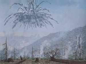 asteroid that hit siberia - photo #21